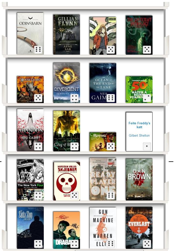 bøker lest i år